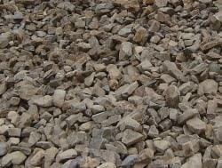 Schanskorven met Grauwacke stenen